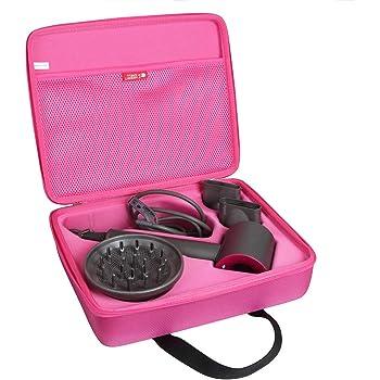 Hermitshell - Funda de viaje para secador de pelo Dyson Supersonic, color fucsia: Amazon.es: Belleza
