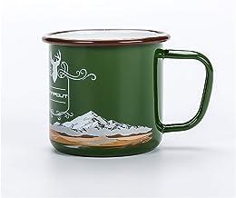 Water Cup Emaille Camping Mok 300 ml Kleurrijke Metalen Emaille Koffie Thee Kamp Cups Mokken voor Camping Wandelen Backpac...