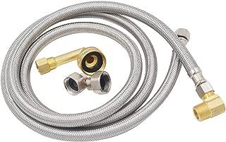 Mightyflex 1//2-Inch F.I.P 72-Inch Long by 5//16-Inch by 1//2-Inch F.I.P LSP KDW-472-PP Dishwasher Supply Line