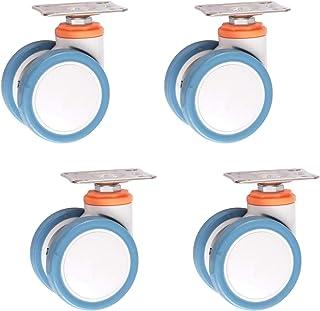 Robuuste dubbele wielen, 7,8 cm (7 inch) medische wielen, PU-draaibalkenwiel, meubel-Berg, voor ambulance, elektronische a...