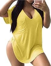 Best oversized yellow t shirt dress Reviews