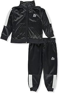 RBX Baby-Boys Tricot Zip Jacket and Pant Set Pants Set - Gray - 12M