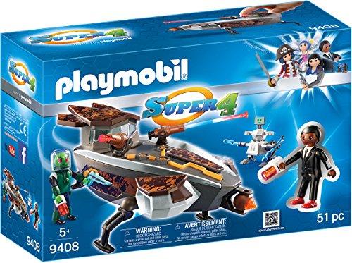 PLAYMOBIL Gene y Sykroniano con Nave y Robot