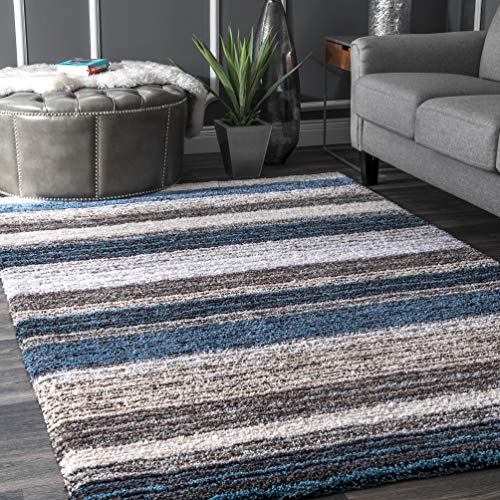 nuLOOM Classie Hand Tufted Shag Area Rug, 5