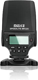 MEIKE MK-320N Mini TTL Speedlite Automatic Flash for Nikon MI Hot Shoe DSLR and Mirrorless Cameras J1 J2 D550 D810 D800 D3...