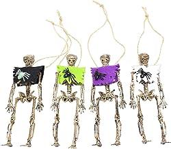 4 pcs decorativo Skeleton Props Pingentes Festival Dia dos adornos mortos