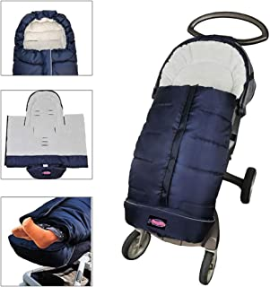 Cozy Toe Winter Tour Waterproof Sleep Sack for Toddlers,Universal Footmuff for Stroller,Multi-Functional Stroller Bunting Bag Blanket,6-36M Baby Use