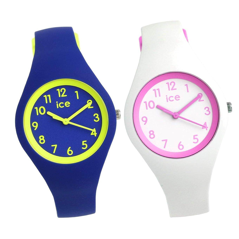野望好奇心盛日没[アイスウォッチ]ICE WATCH 腕時計 ペアウォッチ 36mm カラフル ブルー 子供用 キッズ [並行輸入品]
