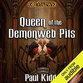 Queen of the Demonweb Pits audiobook cover art