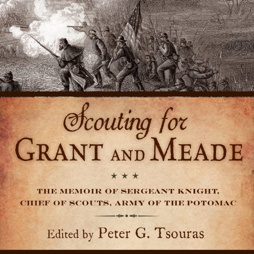 Scouting for Grant and Meade audiobook cover art