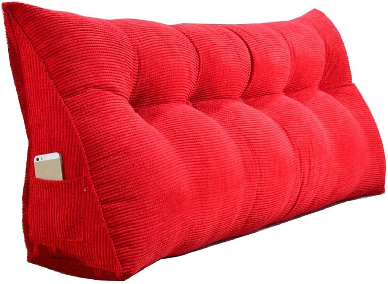 Giow Ceinture de Ceinture de Coussin Lombaire de Coussin de lit de tête de lit de Sofa de tête de lit de Sofa de Triangle