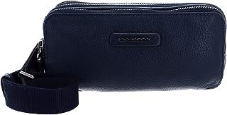 Piquadro Modus Special Trousses 20 Centimeters Bleu (Blu)