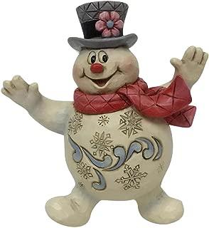 Department56 Enesco Snowman by Jim Shore Jolly Frosty Ornament