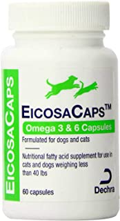 Dechra Eicosa3FF SnipCaps for Cats and Small Dogs Under 60 lbs 60 Count