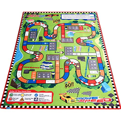 Kids 'Rugs Grande Tapis City Life Idéal pour jouer avec voitures et jouets, enfants Educational circulation routière Tapis de jeu, enfants Tapis Tapis Tapis de jeu