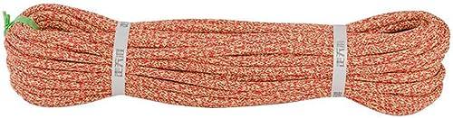 LIZIPYS Cordes Corde Corde à Voile Rênes Corde de Contrôle Corde d'amarrage Cordage de Descente Aucun étirement Tirant de diamètre 8   10mm Longueur 5 10 20 30 40 50   100m Rouge