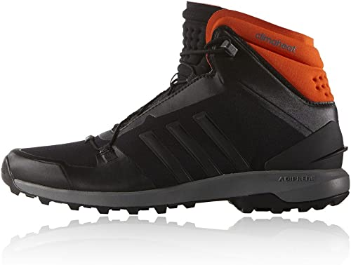 Adidas Perforhommece FASTSHELL Mid Chaussures de Randonnee Unisex Noir Orange Climaheat