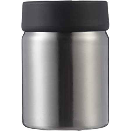 Amazon Basics - Portaspazzolino in acciaio INOX, Nero