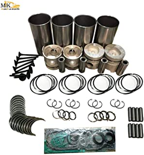 V1902 V1902BH Overhaul Rebuild Kit For Kubota Engine Thomas Loader T173 T133 784