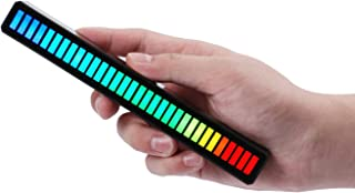 RGB Sound Control Light,Voice-Activated Pickup Music Rhythm Lights,Creative Colorful LED Ambient Light,with 8 Modes Music ...