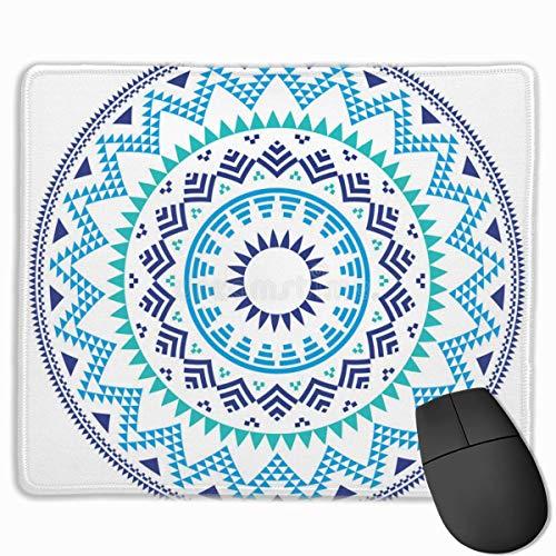 Alfombrilla de ratón Alfombrillas de ratón Mandala moradas Alfombrillas de Goma Antideslizantes para Juegos Alfombrillas de ratón