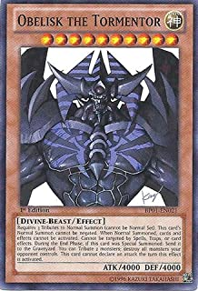 Yu-Gi-Oh! - Obelisk The Tormentor (Bp01-En021) Battle Pack: Epic Dawn 1St Edition Starfoil Rare