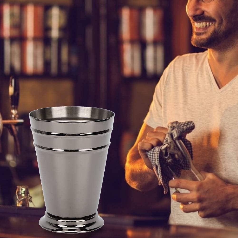 Lazmin112 Bicchiere da Birra Bicchiere da Cocktail per Bar per la casa Bicchiere da Vino Black, 400ml Boccale da Cocktail