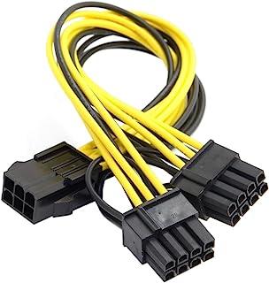 cablecc PCI-E PCI Express ATX 6pines macho a Dual 8Pin & 6pines hembra Tarjeta de Video Extensión divisor Cable de alimentación