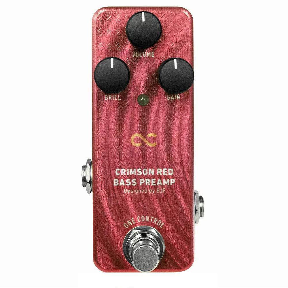 リンク:Crimson Red Bass Preamp
