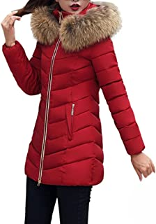 CHILLY LOOKATOOL Fashion Winter Women Jacket Long Thick Warm Slim Coat Overcoat