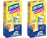 Dixie Bathroom Cups, 3 oz 200 ea, Assorted designs - 2 Pack (400 Total)