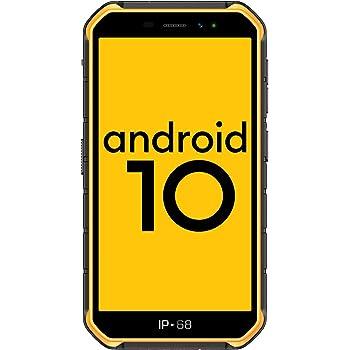 Ulefone Armor X7 Pro (2020),4G Android 10 Móvil Libre Resistente, Telefonos Robusto (4GB + 32GB) 5.0HD, IP68 Impermeable Smartphone,Dual Cámara 4000mAh batería, NFC/OTG/GPS/Facial ID,Amarillo: Amazon.es: Electrónica