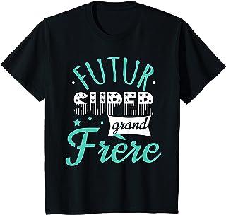 Enfant Futur Super Grand Frère, Annonce Garçon Drôle T-Shirt