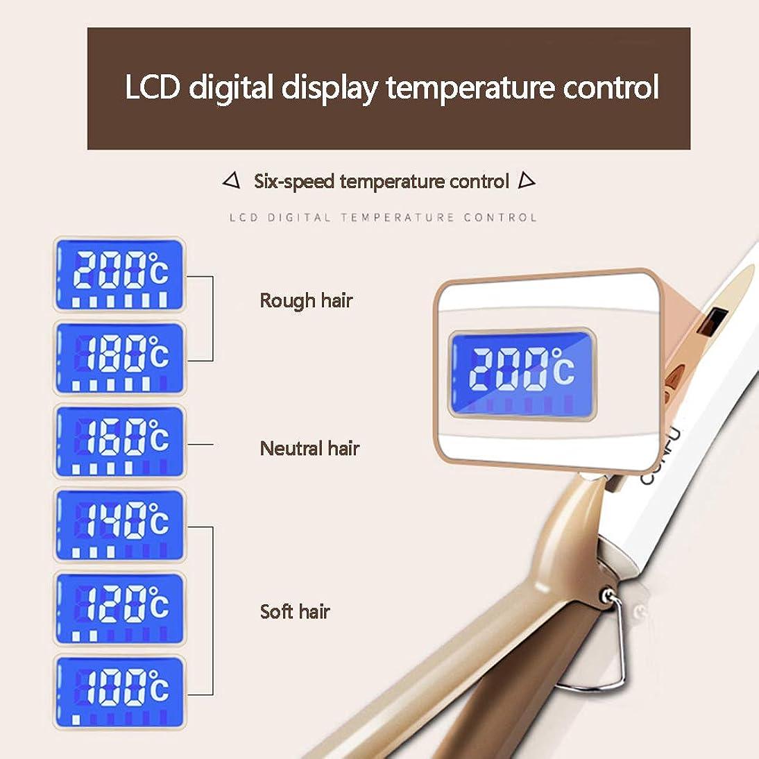 必要条件サイレン倒産巻き毛スティックセラミックスヘアカーラーインナーバックルモデリングスタイリングツール&電化製品、エアバンズ巻き毛スティック、28mm