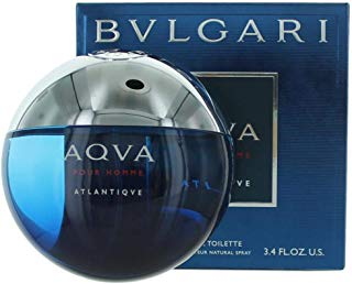 BVLGARI Aqva Atlantiqve Eau de Toilette Spray, 3.3 Ounce