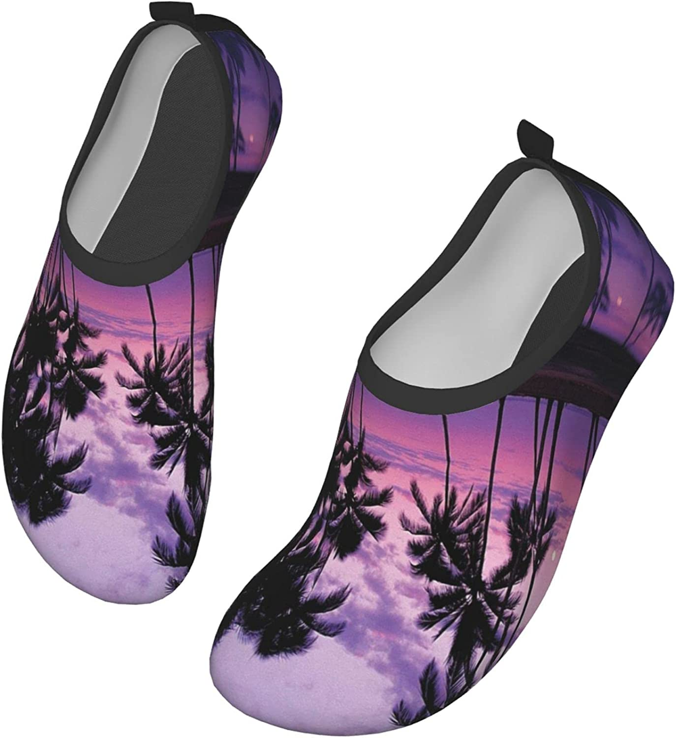 Oil Painting Paris Eiffel Tower (2) Water Shoes Mens and Womens Universal,Adult Water Shoes Apply to Surf