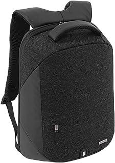 Santhome Anti Theft Laptop Backpack Unisex Multifunctional I External USB Port I Hard exterior to retain shape I Light wei...