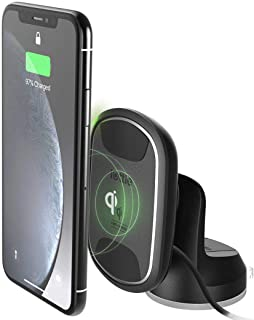 iOttie ITap 2 Wireless Magnetic Qi Wireless Charging Dashboard Mount || Compatible with IPhone XS XR X Max Samsung S10 S9...