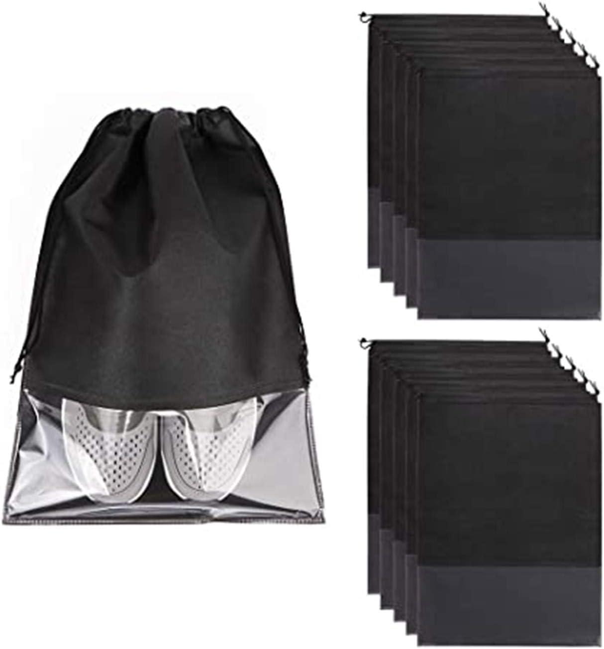 LANLBAODAN New Orleans Mall 10 Quantity limited Pack Reusable Cotton Shoe Vegetable Portable Bags