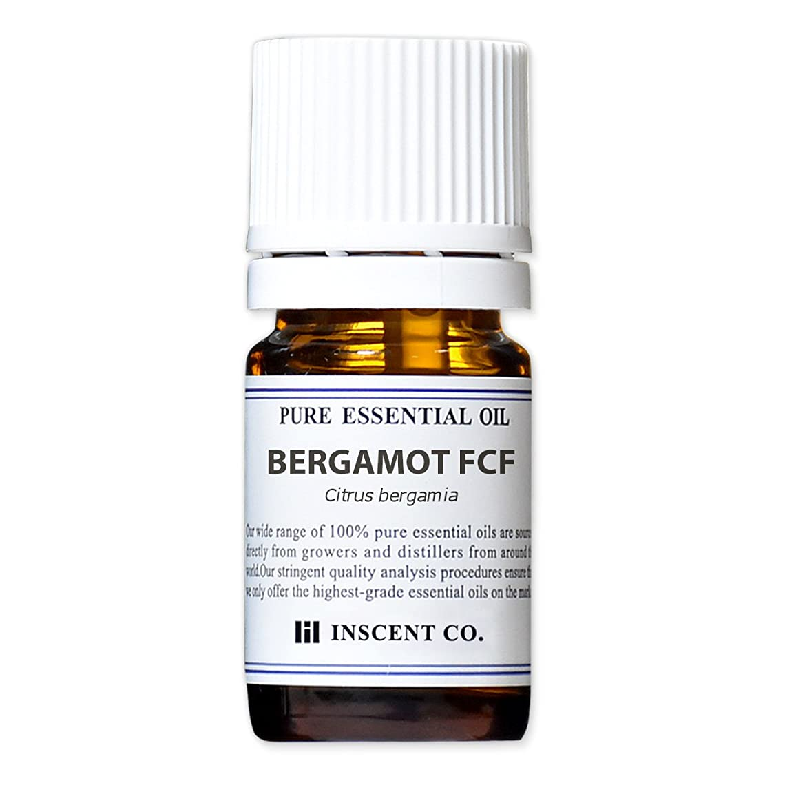 乳禁止する電気技師ベルガモット FCF (ベルガプテンフリー) 5ml インセント アロマオイル AEAJ 表示基準適合認定精油 (フロクマリンフリー)