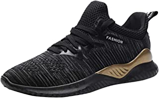 Yamall Men'S Running Lightweight Breathable Casual Sports Shoes Fashion Sneakers Walking Shoes