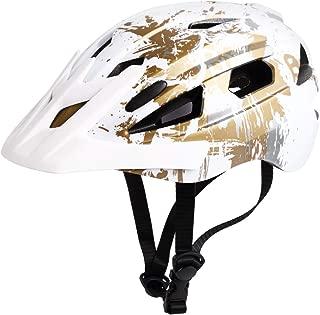 M Merkapa Bike Helmet Bicycle Helmet with Safe Taillight and Detachable Stick Visor, Suitable for Adult Men Women Boys Girls to Cycling Road Biking