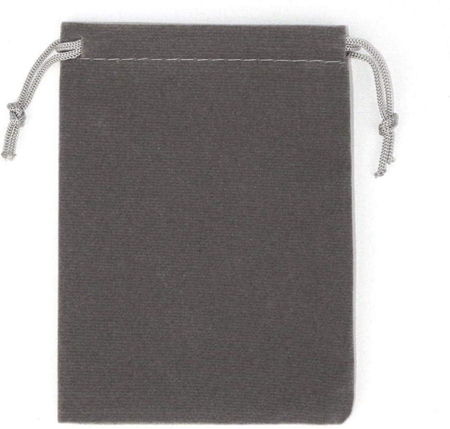 embalaje de joyer/ía bolsa de regalo para banquete de boda-blanco/_El 15x20cm Bolsa de terciopelo con cord/ón de 25 piezas
