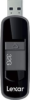 Lexar Jumpdrive S75 32GB USB 3.1 Flash Drive (Black)