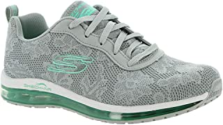 skechers grey trainers