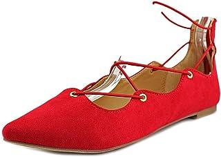 [マテリアルガール] Womens Ibby Pointed Toe Ballet Flats [並行輸入品]