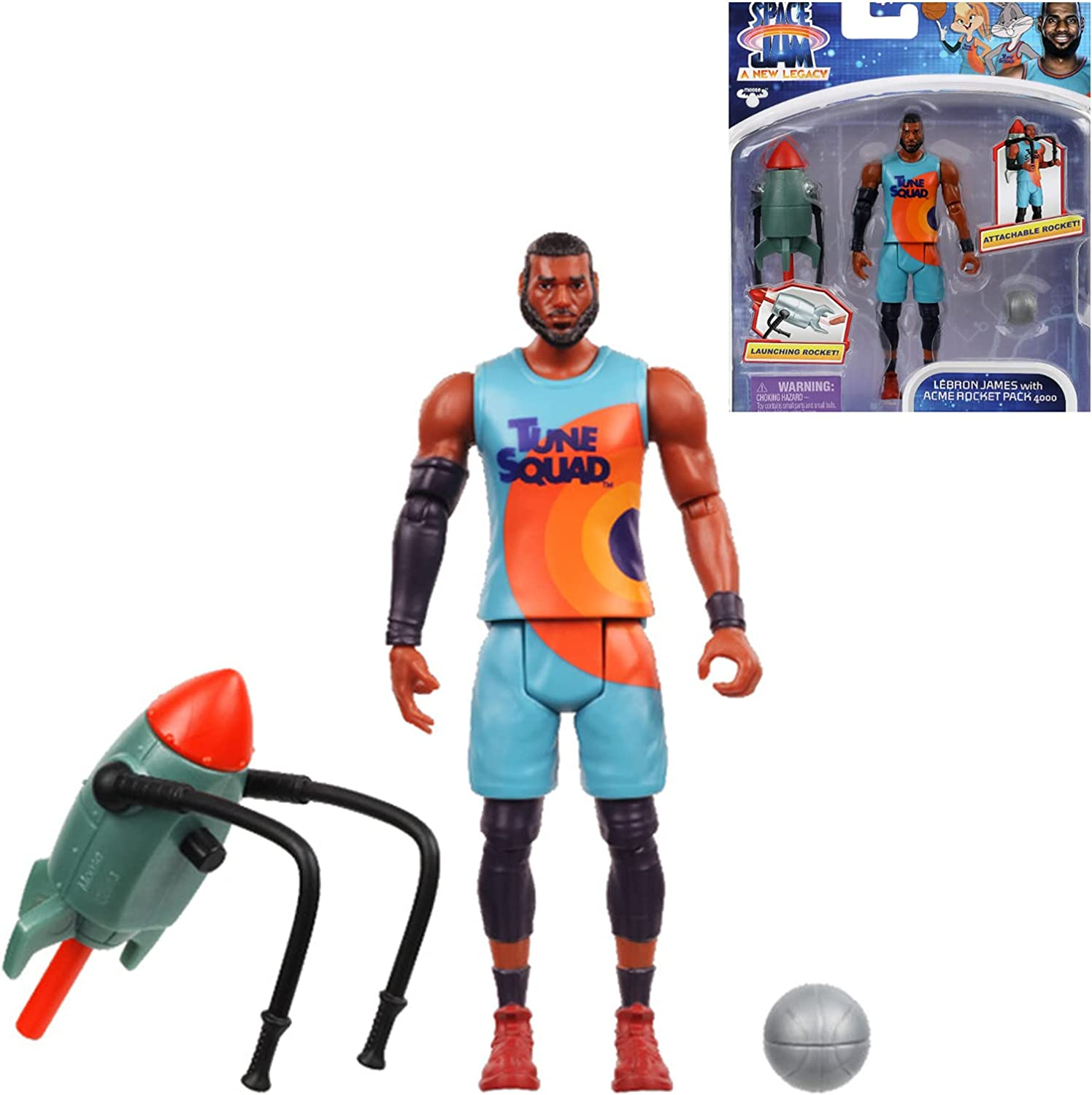 Space Jam trend rank Action Figure James Manufacturer direct delivery New-Baller A