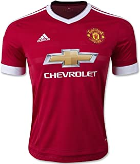 adidas Manchester United FC Home Authentic Jersey-Red