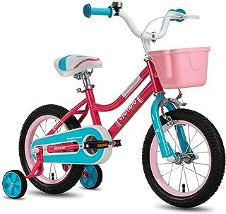 Cycmoto Bicicleta para niñas de 3 a 6 años, bicicleta infa