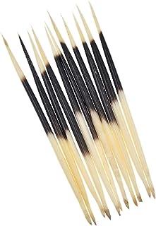 YNuth Set de 10 Piezas de Púas de Puerco Espín de Longitud 16-18cm